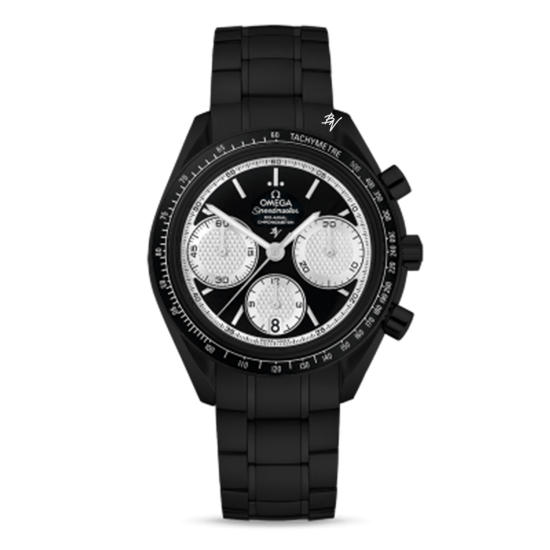 Omega Racing Co-Axial Chronograph Limited Edition /10 Black Venom Dlc - Pvd