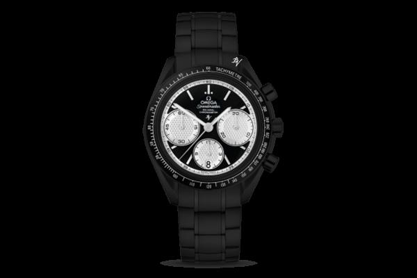 Racing Co-Axial Chronograph Limited Edition /10  Black Venom Dlc - Pvd