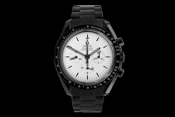 Omega Moonwatch Speedmaster White dial  Limited Edition /5 Black Venom Dlc - Pvd