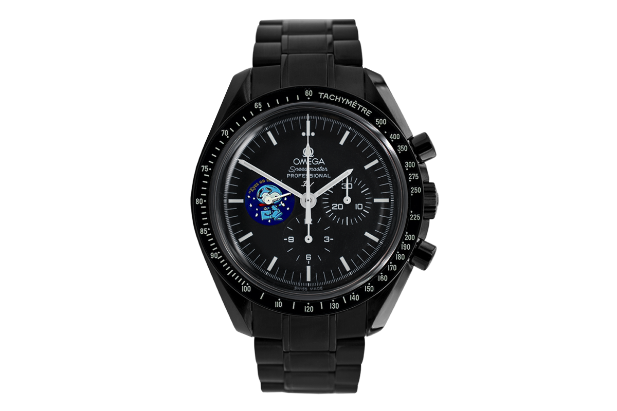 picked up quality design hot products Omega Moonwatch Snoopy Black Venom - Limited Edition /5