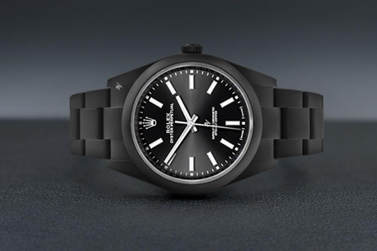 Rolex Limited Edition /35 Black Venom Dlc - Pvd