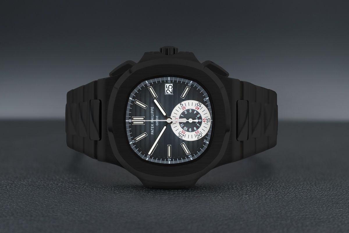 Patek Philippe  Limited Edition /10 Black Venom Dlc - Pvd