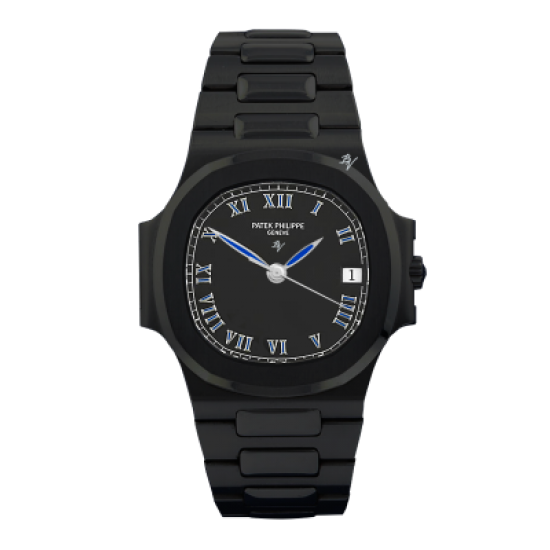 Patek Philippe Limited Edition /5 Black Venom Dlc - Pvd
