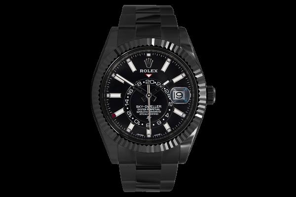 Rolex Black - Limited Edition /35 Black Venom Dlc - Pvd