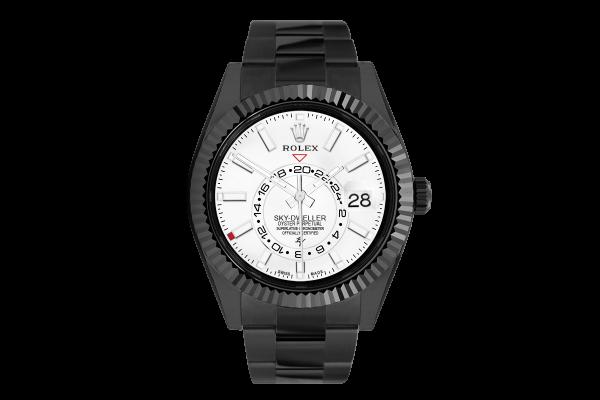 Rolex  White - Limited Edition /35 Black Venom Dlc - Pvd