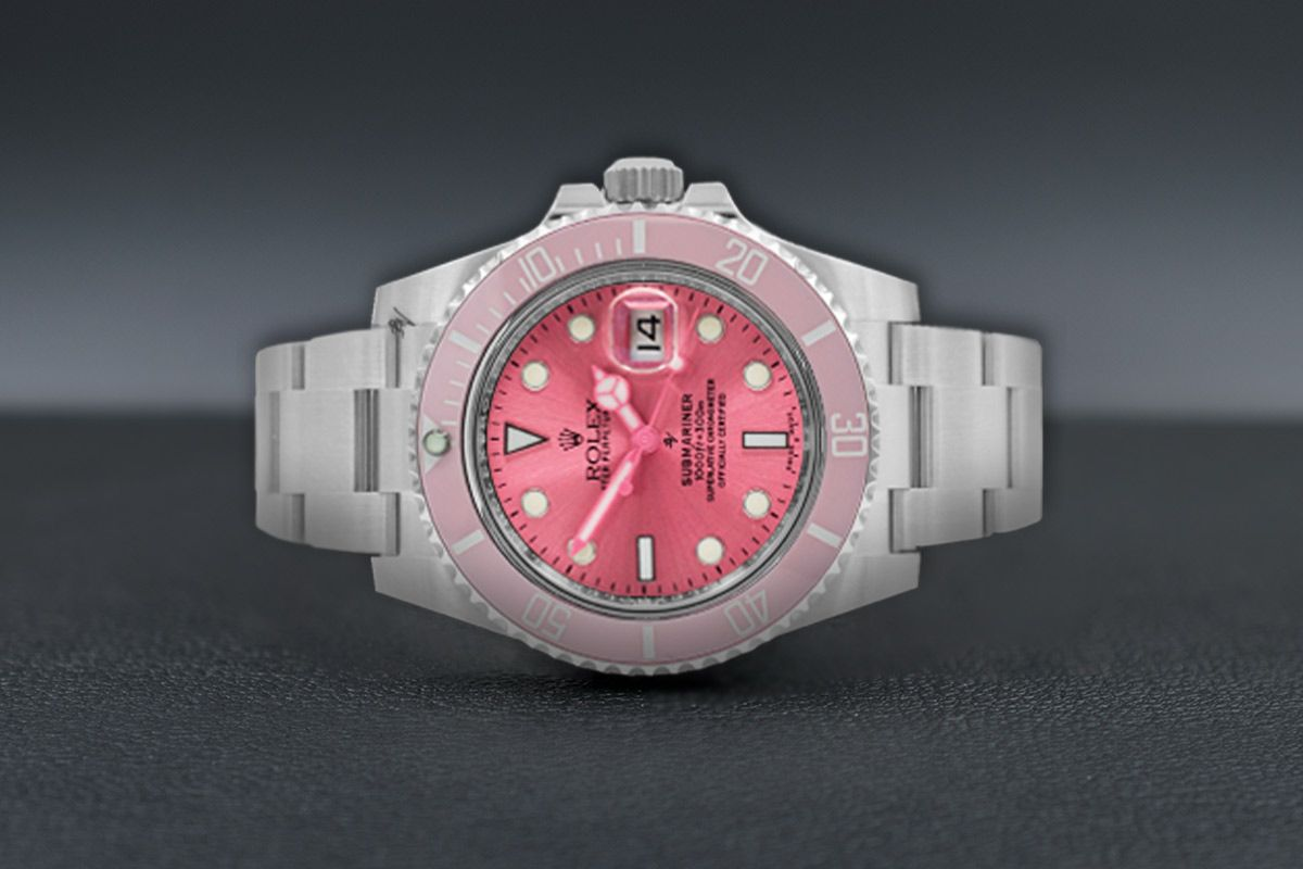 Rolex Pink Edition - Limited edition /5 - Black Venom custom