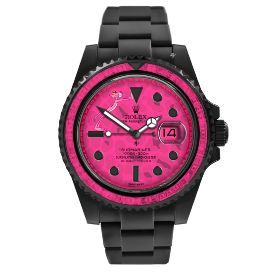 Rolex Pink Panther - Limited Edition /5 Black Venom Dlc - Pvd