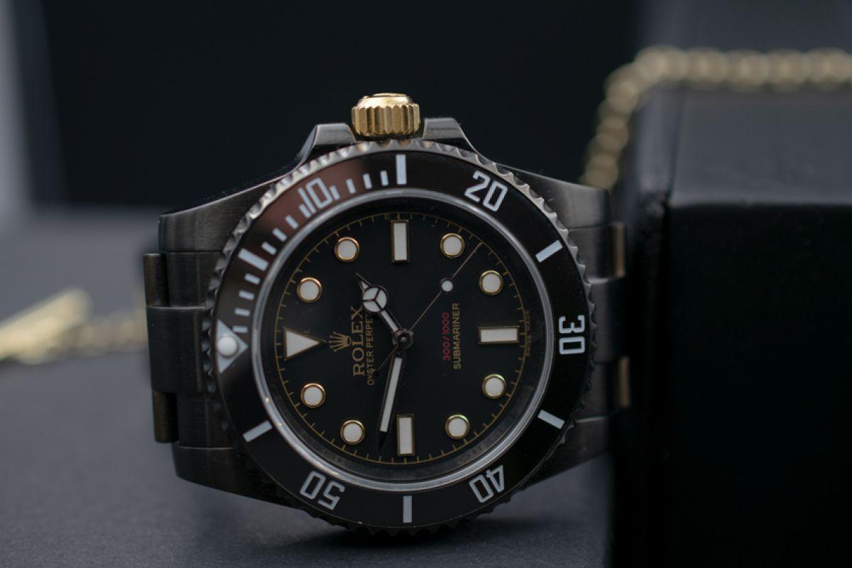 Rolex 114060 - James Bond - Limited Edition /10 Black Venom Dlc - Pvd