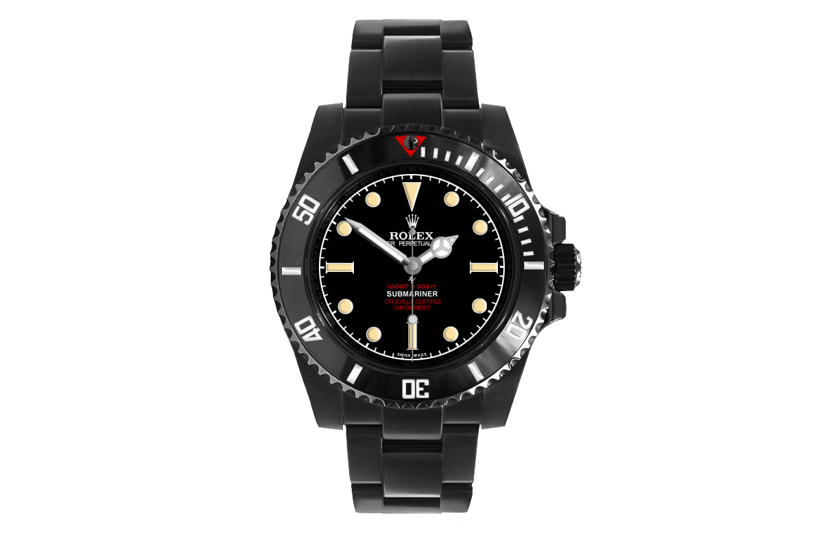 Rolex 114060 Black Venom 6538 Remake Limited Edition 10