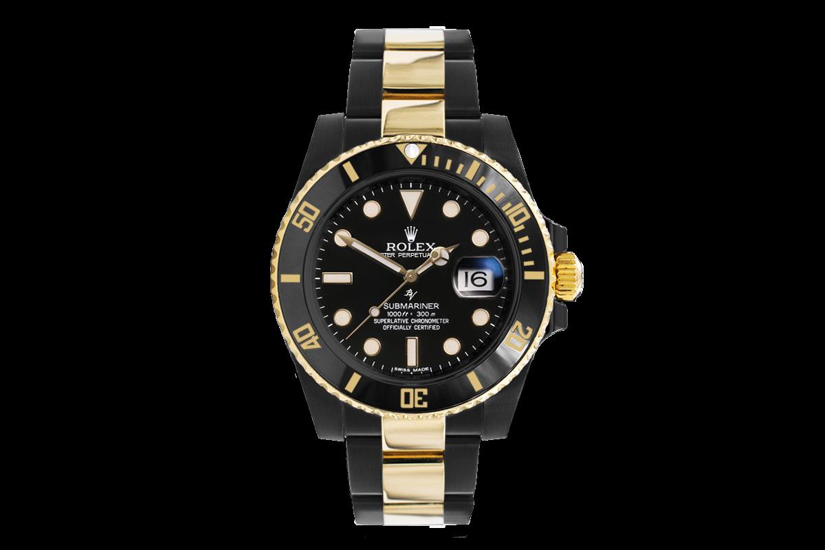 Rolex 116613ln Black Venom Black Gold Limited Edition 35
