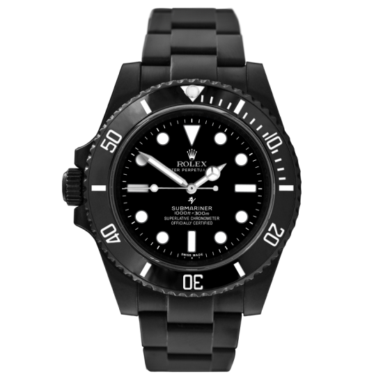 Rolex right-handed - Limited Edition /35 Black Venom Dlc - Pvd