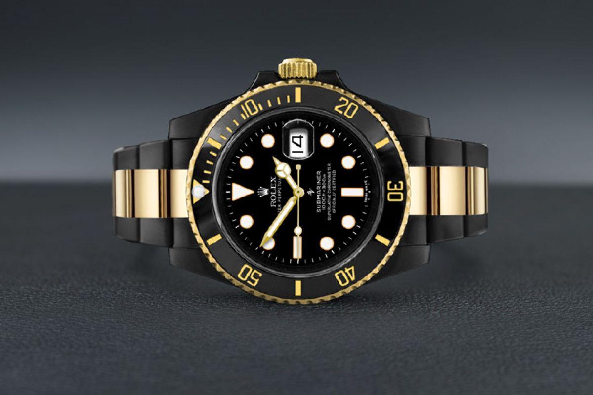 Rolex Black & Gold - Limited Edition /35 Black Venom Dlc - Pvd