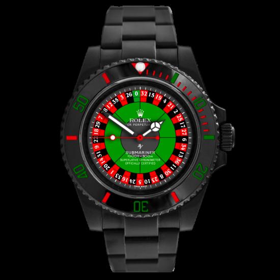 Rolex Roulette - Limited Edition /10 Black Venom Dlc - Pvd