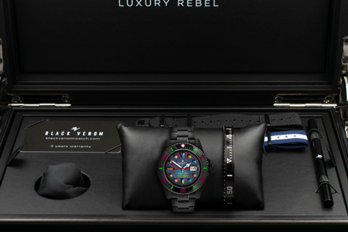 Rolex  HAPPY - Limited Edition /1 Black Venom Dlc - Pvd