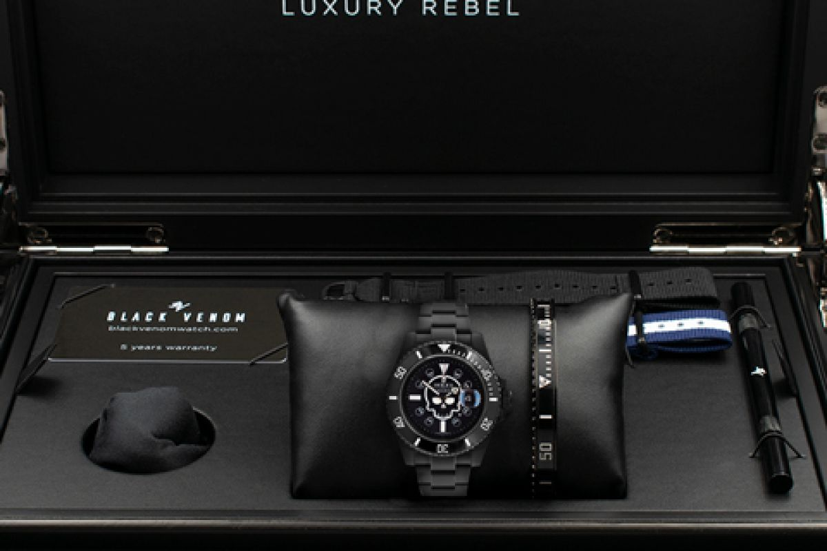 Rolex  Limited Edition /10 Black Venom Dlc - Pvd