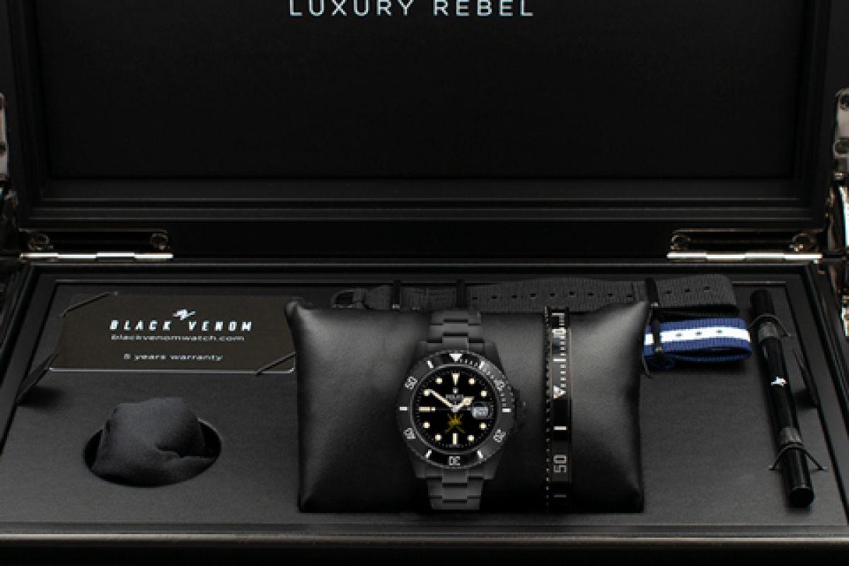 Rolex 1665 Remake - Limited Edition /10 Black Venom Dlc - Pvd