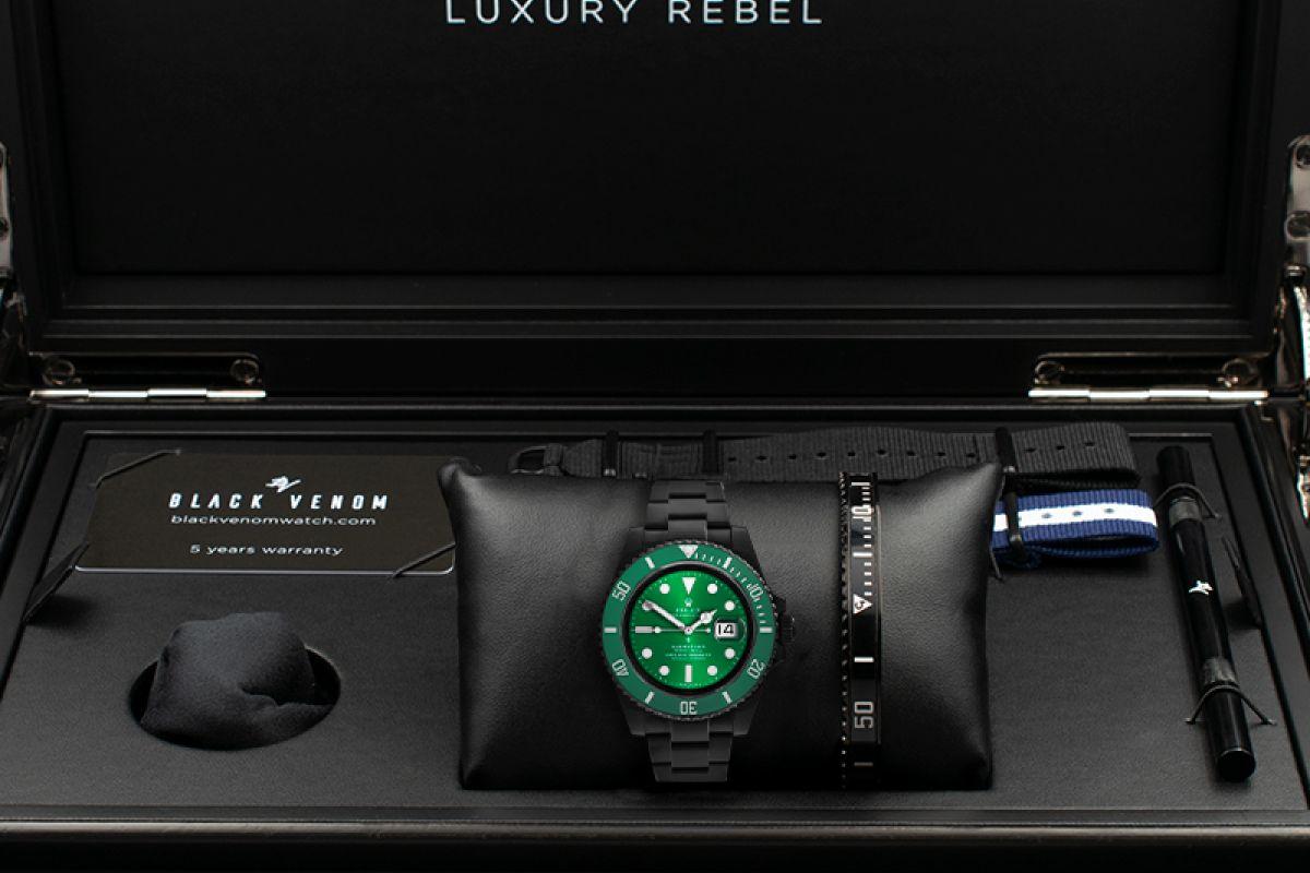 Rolex Hulk Limited Edition /35 Black Venom Dlc - Pvd