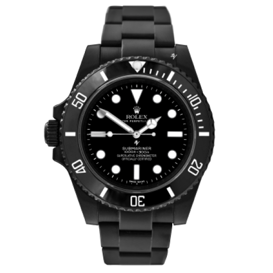 Rolex right-handed - Limited Edition /35 Black Venom Dlc - Pvd