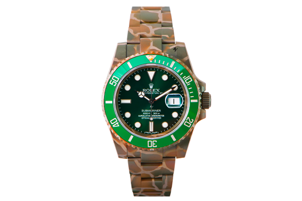 SUBMARINER 116610 HULK N.O.C CAMOUFLAGE (9/10) - Limited Edition /10