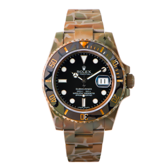 Rolex SUBMARINER 116610 N.O.C CAMOUFLAGE - Limited Edition /10