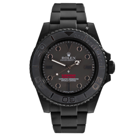 Rolex Submariner  Limited Edition /10 Black Venom Dlc - Pvd