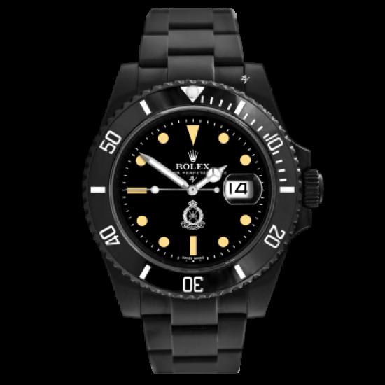 Rolex 16800 Remake - Limited Edition /10 Black Venom Dlc - Pvd