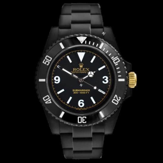 Rolex James Bond - Limited Edition /10 Black Venom Dlc - Pvd