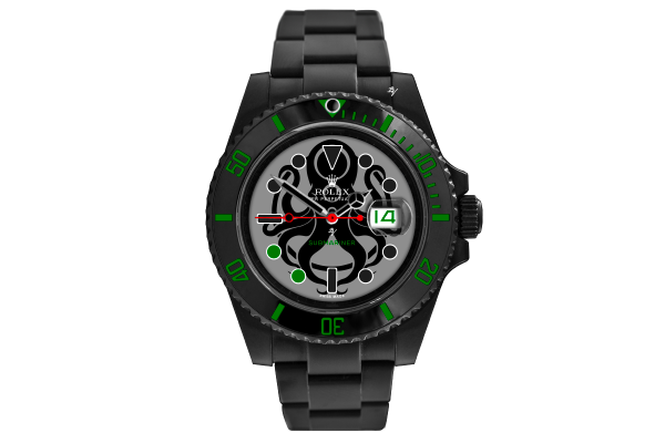 octopus - Limited Edition /10 Black Venom Dlc - Pvd