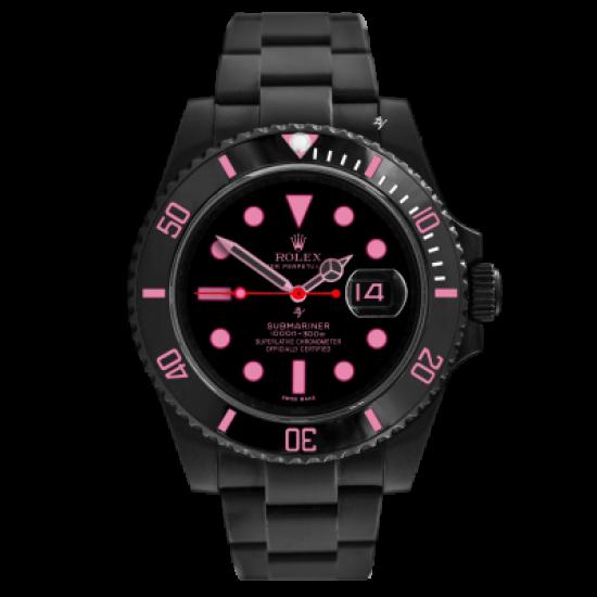 Rolex Pink Lady - Limited Edition /10 Black Venom Dlc - Pvd
