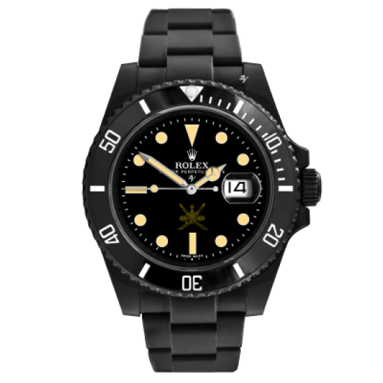 Rolex 1665 Revisited - Limited Edition /10 Black Venom Dlc - Pvd