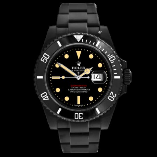 Rolex 1680 Remake - Limited Edition /10 Black Venom Dlc - Pvd