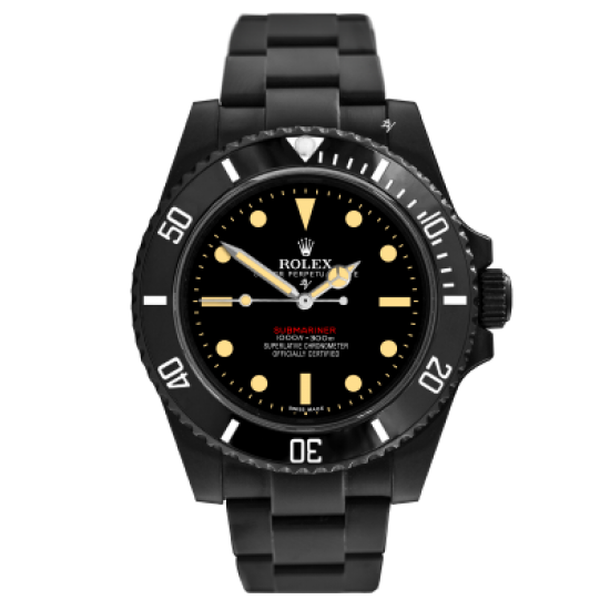 Rolex  1680 Remake - Limited Edition /10 Black Venom Dlc - Pvd