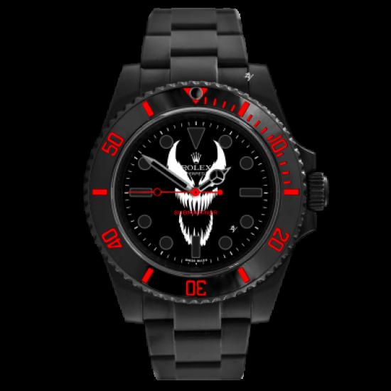 Rolex  Symbiote - Limited Edition /10 Black Venom Dlc - Pvd