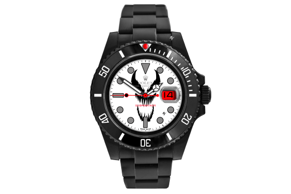 Symbiote Bianco - Limited Edition /10 Black Venom Dlc - Pvd
