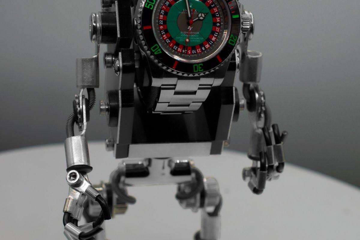 Rolex Roulette Limited edition /5 - Black Venom custom