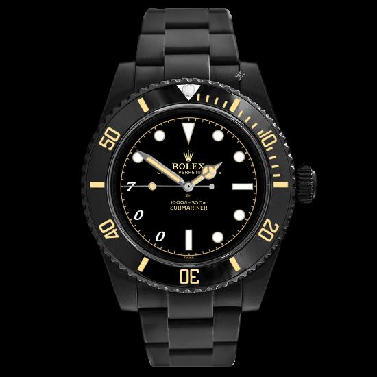 Rolex James Bond Remake MK2 - Limited Edition /5 Black Venom Dlc - Pvd
