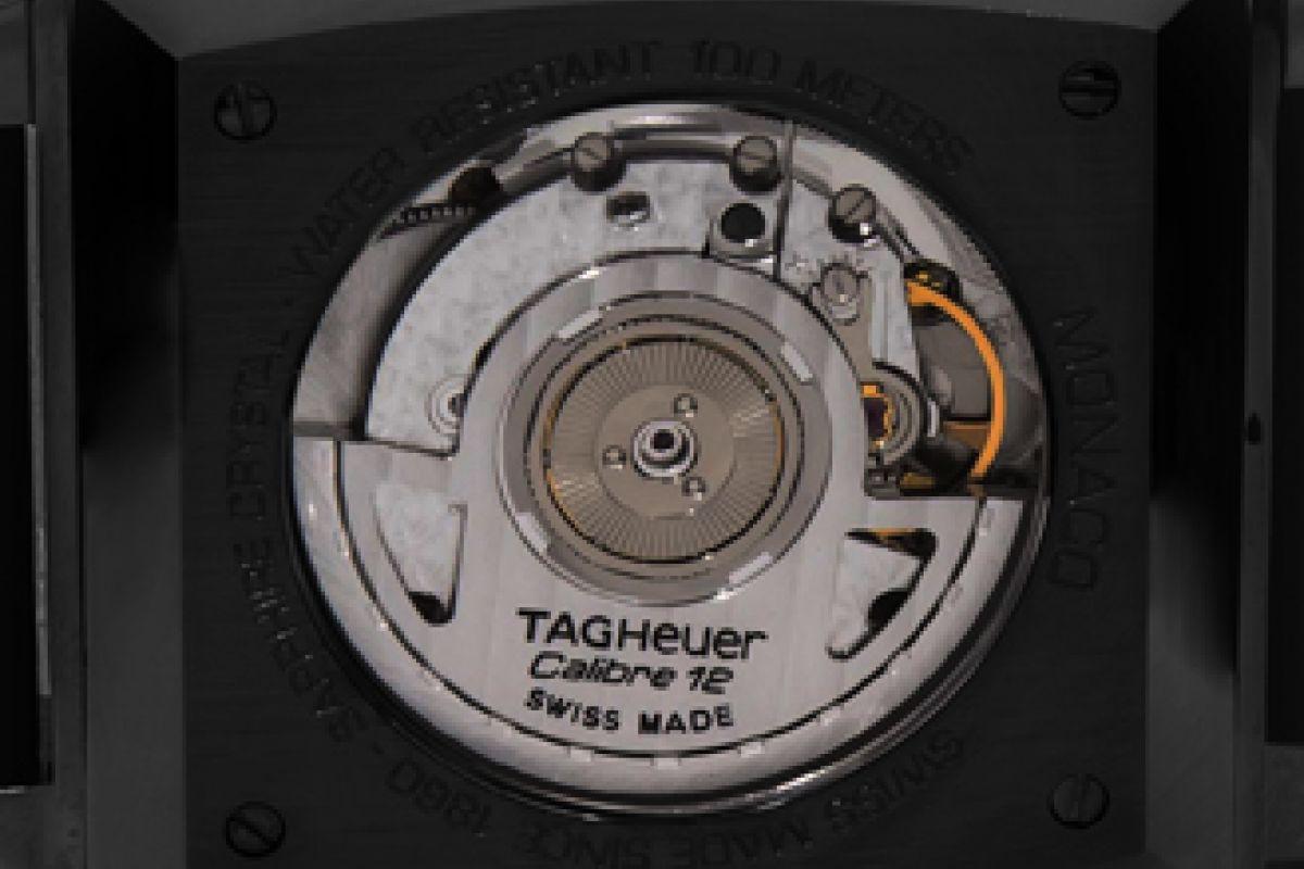 Tag Heuer Calibre 12 automatico  Limited Edition /10  Black Venom Dlc - Pvd