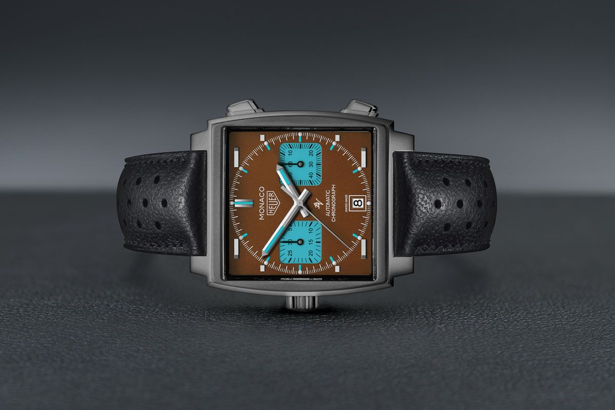 Tag Heuer Calibre 11 automatico - DLC Grey - Limited Edition /5