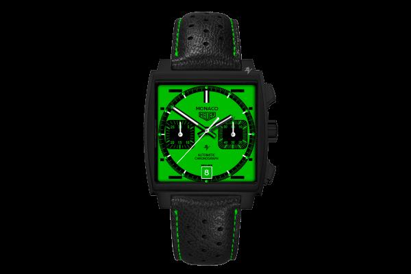 Calibre 12 automatico Green Dial - Limited Edition /10  Black Venom Dlc - Pvd