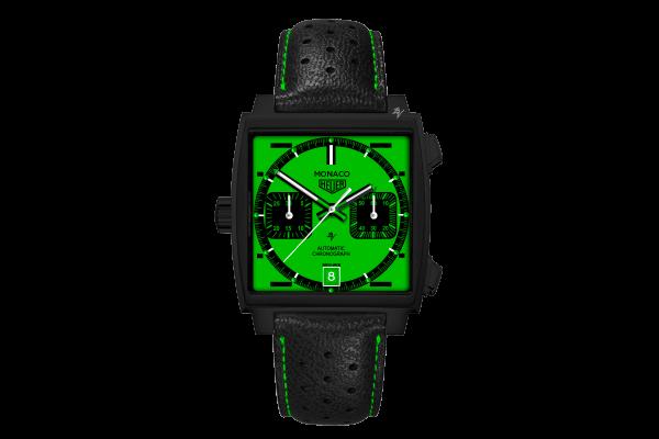 Calibre 11 automatico Green Dial - Limited Edition /10  Black Venom Dlc - Pvd