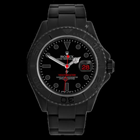 Rolex Yacht-Master Red Taste - Limited Edition /10 Black Venom Dlc - Pvd